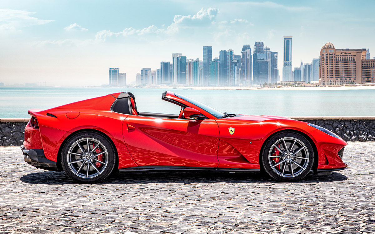 The New Ferrari 812 Gts Ohlala